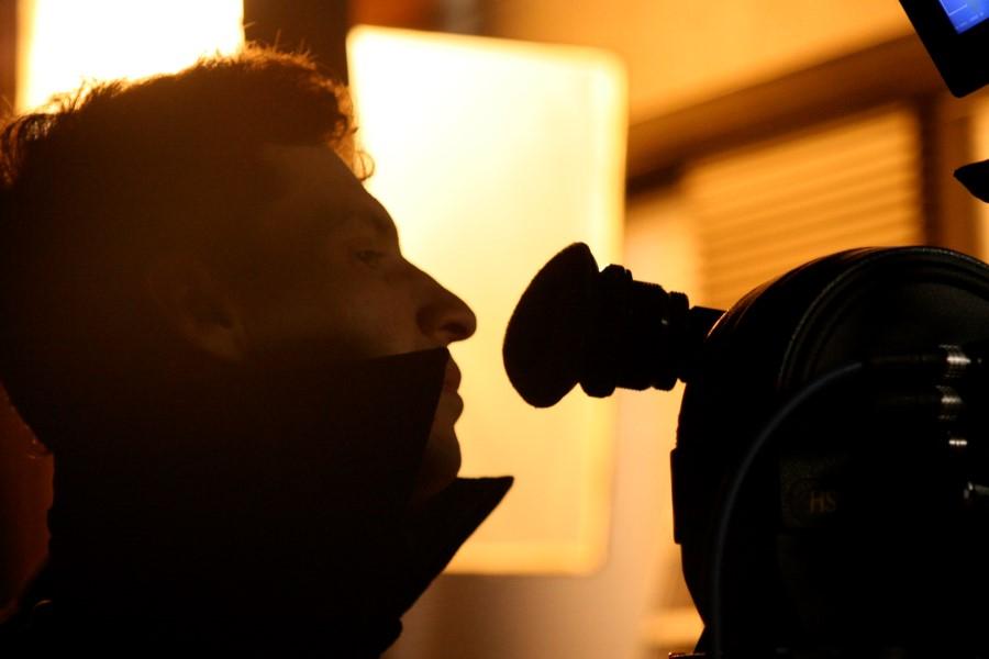 Arauco Hernández en el rodaje de 'Gigante', por Fermín Torres