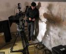 Arauco Hernández en el rodaje de 'El lugar del hijo'