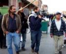 Gonzalo Arijón en el rodaje de 'Ojos bien abiertos'