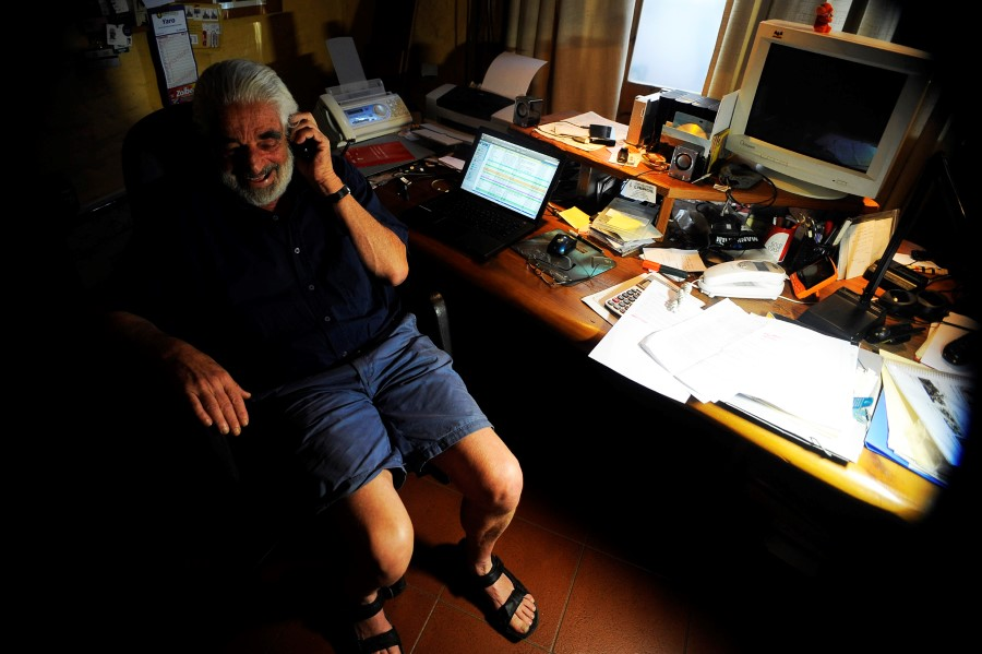 Mario Jacob, fotografía de Nicolás Pereyra.
